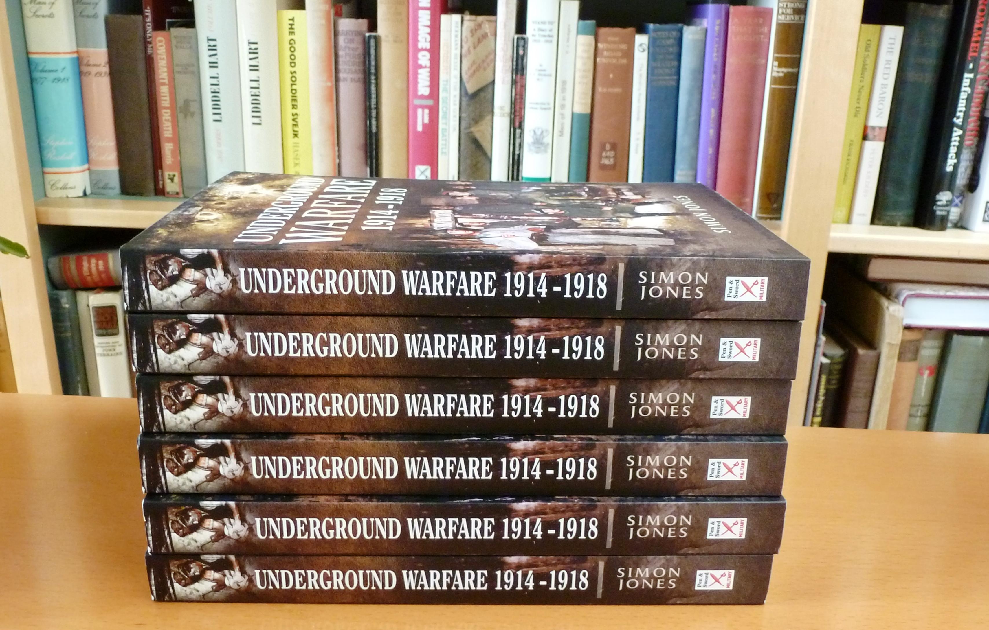 Underground Warfare 1914-1914 in paperback