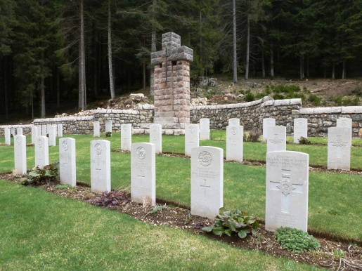 Barenthal Military Cemetery graves