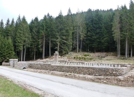 Barenthal Military Cemetery.