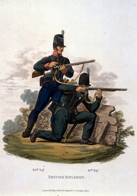British Riflemen, 1812-NAM-6139