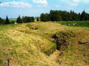 German front line Beaumont Hamel