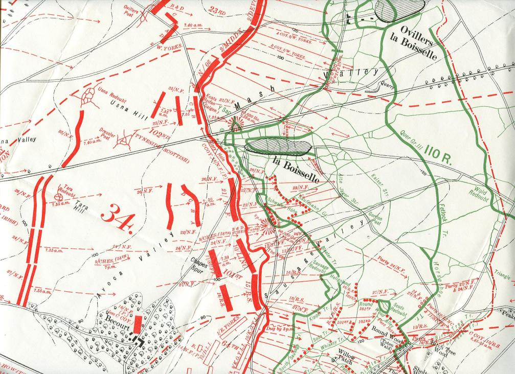 Attack of 34th Division (Official History)