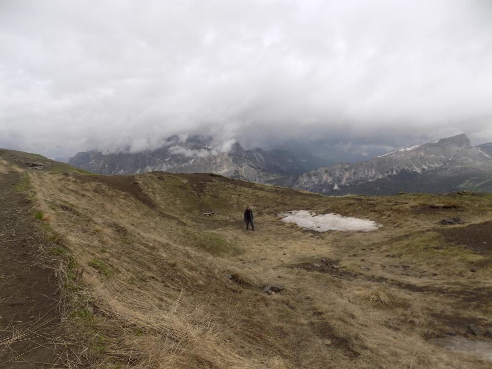 Col di Lana crater of 17 April 1916a