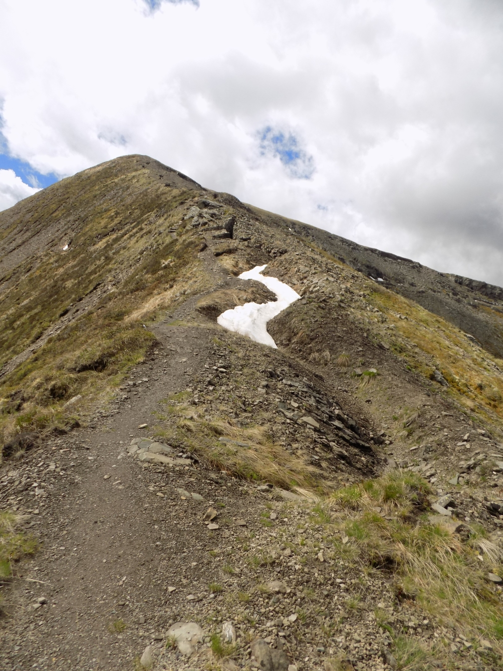 Monte Sief Austrian positions along the ridge