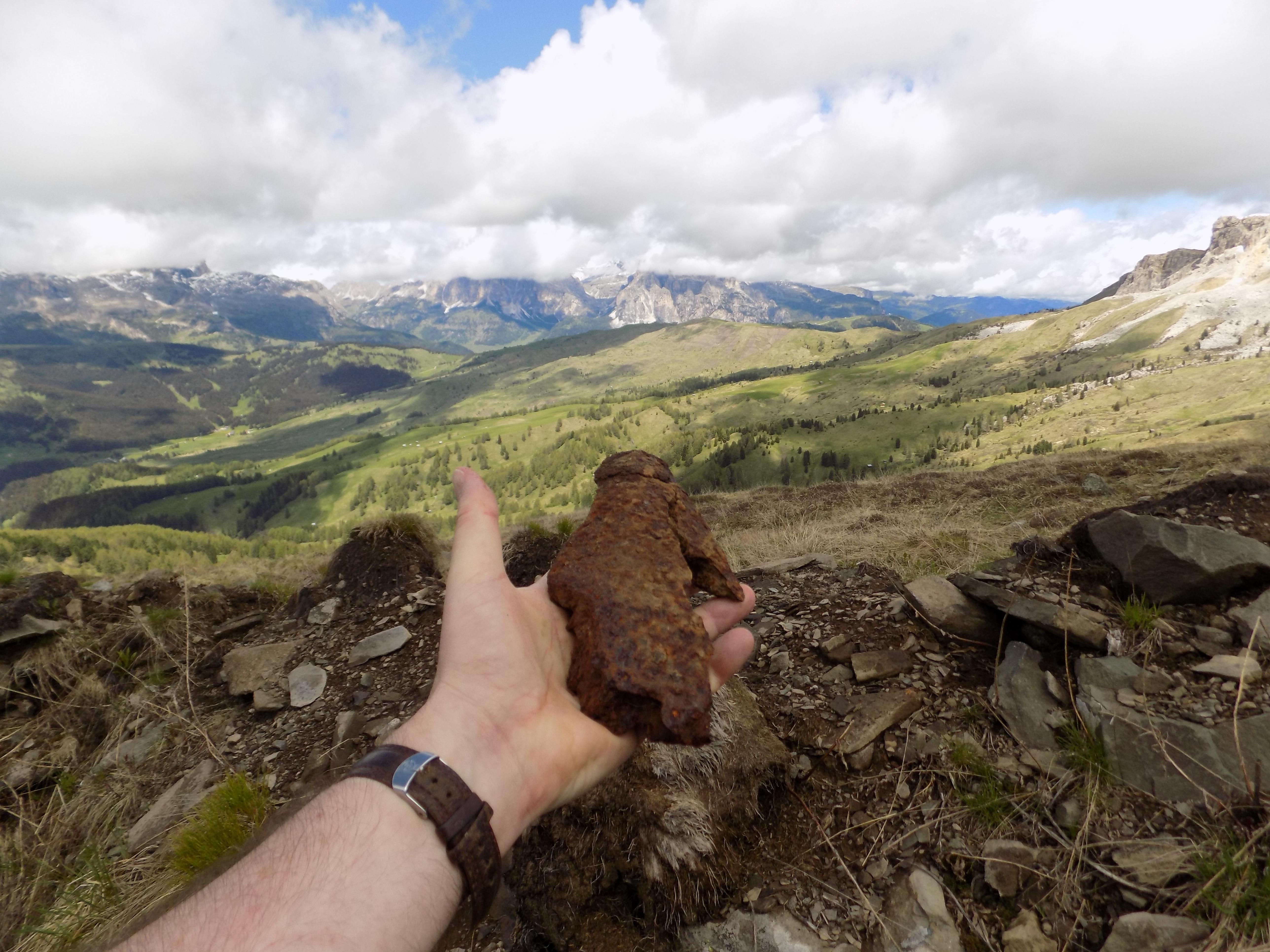 Monte Sief shell fragment