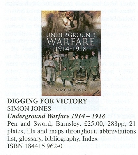 Simon Jones Underground Warfare review1