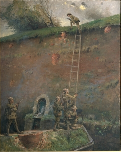 George_Edmund_Butler_-The_scaling_of_the_walls_of_Le_Quesnoy