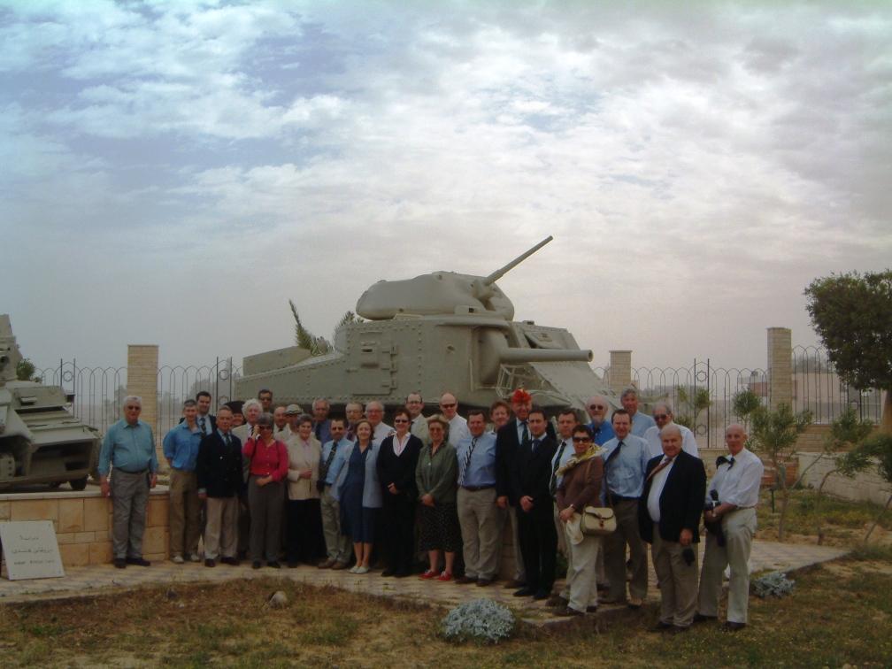 Battlefield tour El Alamein Museum