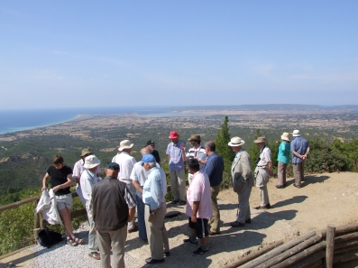 Battlefield tour Gallipoli