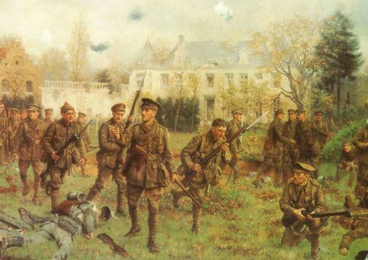 Worcesters Gheluvelt Ypres battlefield walking tour