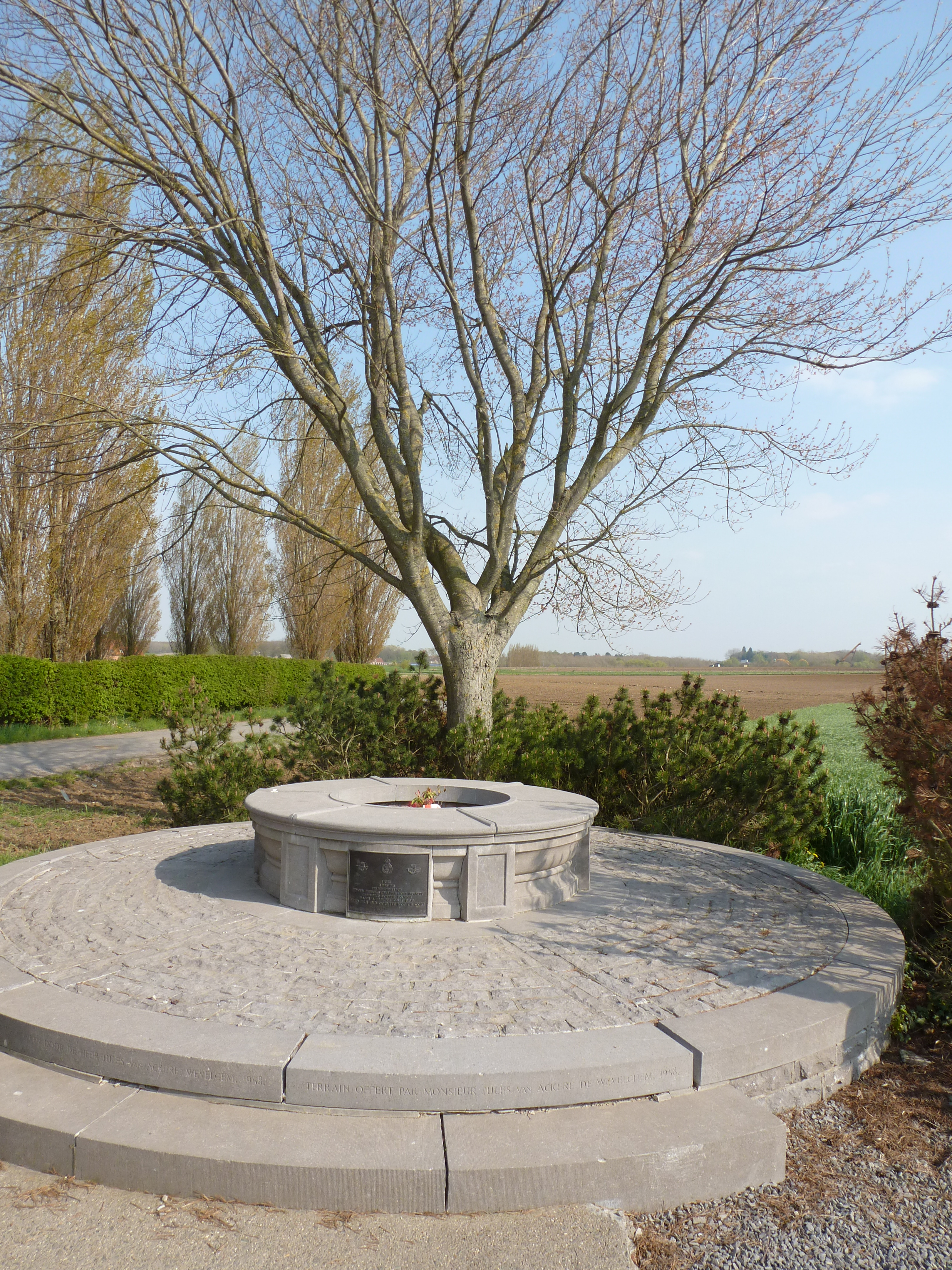 PPCLI Ypres battlefield tour