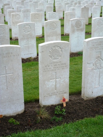Meagher Tyne Cot Ypres battlefield walking tour
