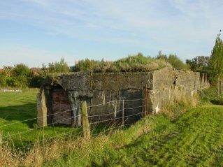 Edmund Campion Vaughan's bunker, St Julien