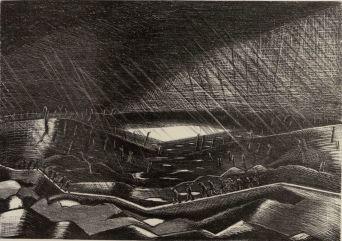 Paul Nash, Rain Zillebeke-Art.IWM ART 1603