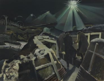 Paul Nash, The Ypres Salient at Night-Art.IWM ART 1145