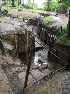 Sanctuary Wood Trenches Ypres