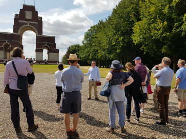 Simon Jones Battlefield Tour Somme Poets 2019